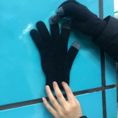 비바스튜디오(VIVASTUDIO) ORIGINAL LOGO GLOVES HA [BLACK] 후기