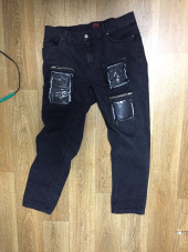엘티씨케이(LTCK) Slim Fit Denim PVC Pants 후기