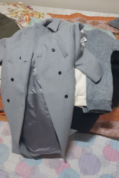 매치글로브(MATCHGLOBE) MG8F DOUBLE WOOL COAT (GRAY) 후기