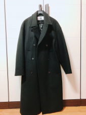 매치글로브(MATCHGLOBE) MG8F DOUBLE WOOL COAT (BLACK) 후기