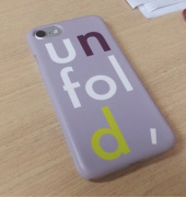 언폴드(UNFOLD) logo iphone case - lavender 후기