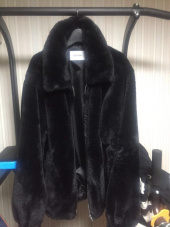 스페로네(SPERONE) faux fur Szipup jacket black 후기