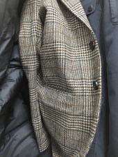 모디파이드(MODIFIED) M#1690 winter glen check wool blazer 후기