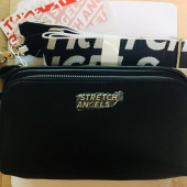 스트레치 엔젤스(STRETCH ANGELS) PANINI metal logo solid bag (Black) 후기
