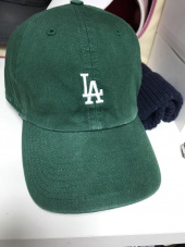 47브랜드(47 BRAND) LA Small Logo Base Runner 47 CLEAN UP Dark Green 후기