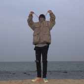 라이풀(LIFUL) COLOR BLOCK WINDBREAKER khaki beige 후기