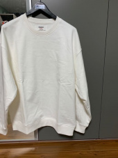 로맨틱 파이어리츠(ROMANTICPIRATES) C.r.e.a.m Overfit Sweatshirt (Balen Brown) 후기