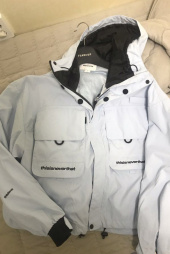 디스이즈네버댓(THISISNEVERTHAT) Fisherman Jacket Sky Blue 후기