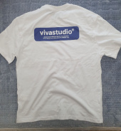 비바스튜디오(VIVASTUDIO) BOX LOGO SHORT SLEEVE IS [WHITE] 후기