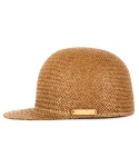 페이퍼코드(PAPERCODE) STRAW RIDING CAP_BROWN