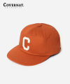 커버낫(covernat) TWILL C LOGO B.B CAP ORANGE