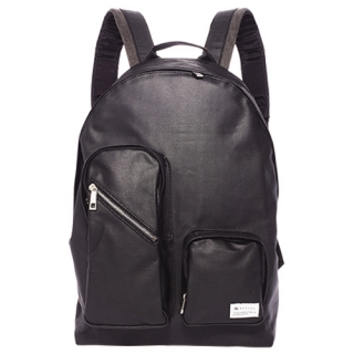 비헤이븐 Bhaven Two Pocket Backpack Black