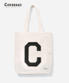 커버낫(covernat) C LOGO ECO BAG IVORY