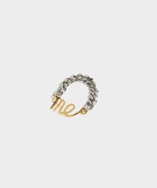 [usual M.E] Me chain ring (3 colors)