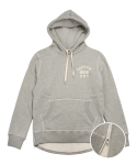 어레인지(ARRANGE) Heavyweight Side Zip Hoodie (Heather Gray)
