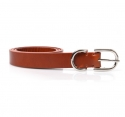 모옌(MOYEN) MAISON DOUBLE LEATHER BELT - BROWN