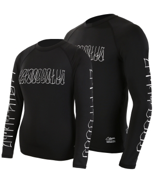 스티그마(stigma) VATOS RASH GUARD BLACK
