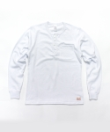 프레스톤즈(PRESTONS) Prestons Henly Long Tee [White]