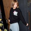 플라시보 이팩트(PLACEBO EFFECT) [플라시보이펙트] VERY BUSY DAY CREWNECK (CONFUSE BLACK)