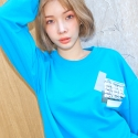 플라시보 이팩트(PLACEBO EFFECT) [플라시보이펙트] VERY BUSY DAY CREWNECK (HYPER BLUE)