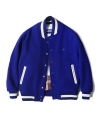 라이풀(liful) NS WOOL VARSITY JACKET royal blue