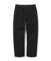 cotton fatigue pants black