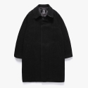 피피피(P.P.P) W.W WOOL OVER COAT (BLACK)