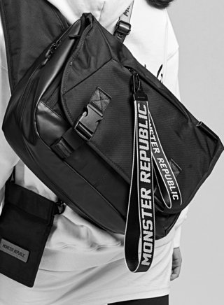 몬스터리퍼블릭(monsterrepublic) COMPOUND MESSENGER BAG SERIES /  메신저백