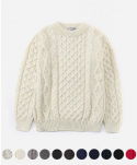 [인기 재입고] ARAN CREWNECK SWEATER (11color)
