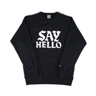 세이헬로우(sayhello) Biz Crew Neck Black
