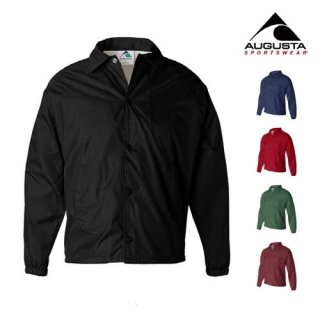 어거스타 스포츠웨어(augustasportswear) LINED NYLON COACH JACKET (5 COLORS)