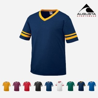 어거스타 스포츠웨어(augustasportswear) SLEEVE STRIPE JERSEYS (9 COLORS)