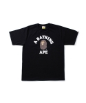 베이프(BAPE) GLASS BEADS COLLEGE TEE