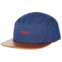 아잇(AIIIGHT) [Aiiight] Vintage Denim Camp Cap Blue