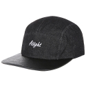 아잇(AIIIGHT) [Aiiight] Vintage Denim Camp Cap Black