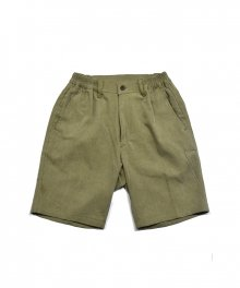 cotton Half Pants_OLIVE GREEN