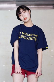 THIS FAST WEEK T-SHIRT (NAVY)
