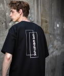 ASYMMETRY LIVE AND LET LIVE TEE (BLACK)