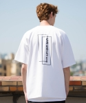 ASYMMETRY LIVE AND LET LIVE TEE (WHITE)