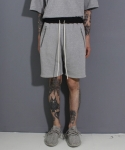 페이드6(FADE6) POCKET ZIPSHORTS GREY