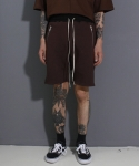 페이드6(FADE6) POCKETZIP SHORTS CHOCO