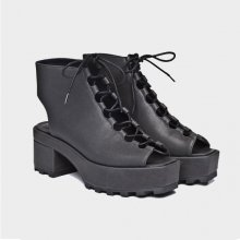 TRAPPED LACE UP 0180164 BLK