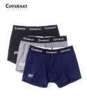 커버낫(COVERNAT) STANDARD DRAWERS 3 PACK (GRAY/NAVY/BLACK)