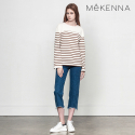 MeKENNA Unbalance semi boots cut denim pants_MX2Y3PT0030