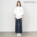 메케나(MEKENNA) MeKENNA Cotton blended no tuck wide pants_MX2Y3PT0010