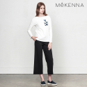 MeKENNA Ankle cut stright pants_MX2Y3PT0050