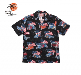로버트제이씨 하와이(robertjchawaii) 102C.3157 Hawaii Shirts [Black]