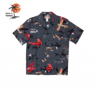로버트제이씨 하와이(robertjchawaii) 250.845 Hawaii Shirts [Black]