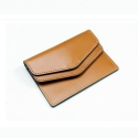 포안(POANE) DOUBLE CARD WALLET_BROWN