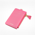 포안() ZIP CARD HOLDER_PINK